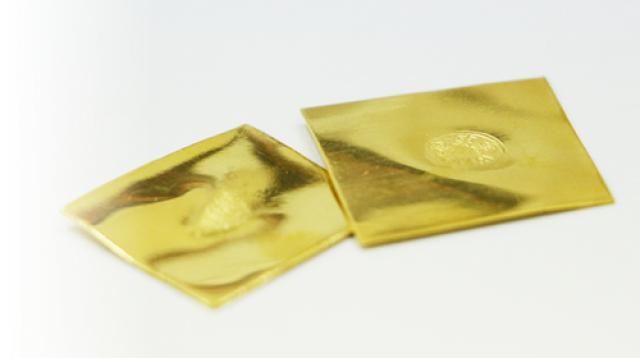 山本貴金属の歯科用純金