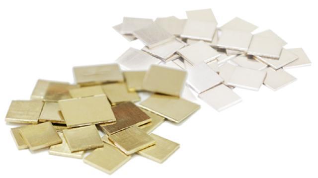 日本橋徳力の金合金製品